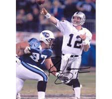 Rich Gannon Oakland Raiders 8x10 #105 Autographed Photo Image