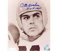 Otto Graham Cleveland Browns 8x10 #155 Autographed Photo