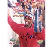 Dexter Jackson Tampa Bay Buccaneers 8x10 #82 Autographed Photo