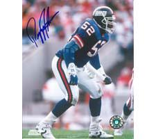 Pepper Johnson New York Giants 8x10 #128 Autographed Photo Image