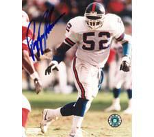 Pepper Johnson New York Giants 8x10 #129 Autographed Photo Image