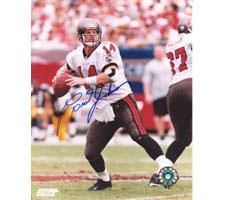 Brad Johnson Tampa Bay Buccaneers 8x10 #64 Autographed Photo Image