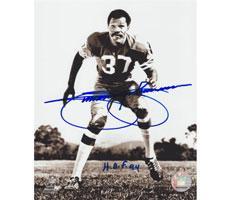 Jimmie Johnson Autographed 8x10 Photo San Francisco 49ers #285 w/HOF 94
