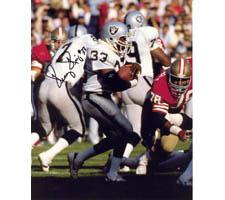 Kenny King Oakland Raiders 8x10 #78 Autographed Photo