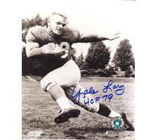 Yale Lary 8x10 #26 Autographed Photo