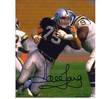 Howie Long Oakland Raiders 11x14 #235 Autographed Photo