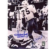 Howie Long Oakland Raiders & Joe Montana San Francisco 49ers Autogra