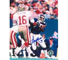 George Martin New York Giants 8x10 #103 Autographed Photo Image