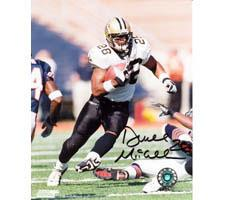 Duece McAllister New Orleans Saints 16x20 #1044 Autographed Photo Image