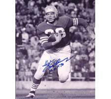 Hugh McElhenny San Francisco 49ers 8x10 #146 Autographed Photo
