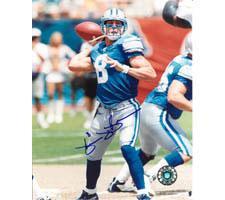 Mike McMahon Detriot Lions Autographed Photo