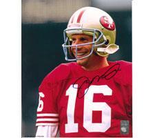 Joe Montana San Francisco 49ers 16x20 #1067 Autographed Photo