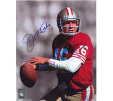 Joe Montana Autographed Photo San Francisco 49ers 16x20 #1072