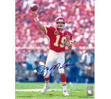 Joe Montana Autographed Photo Kansas City Chiefs 16x20