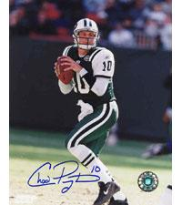 Chad Pennington New York Jets 8x10 #265 Autographed Photo Image
