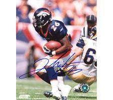 Clinton Portis Broncos 8x10 #94 Autographed Photo Image