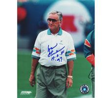 """Don Shula Miami Dolphins 8x10 #301 Autographed Photo signed with """"HOF 97"""""""