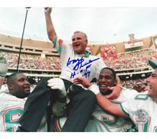 """Don Shula Miami Dolphins 8x10 #302 Autographed Photo signed with """"HOF 97"""""""