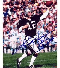 Ken Stabler Oakland Raiders 16x20 #1087 Autographed Photo