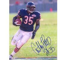 Anthony Thomas Chicago Bears 8x10 #60 Autographed Photo Image