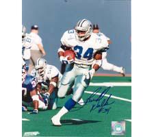 Hershel Walker Dallas Cowboys 8x10 #134 Autographed Photo