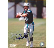 Chris Weinke Carolina Panthers 8x10 #1 Autographed Photo
