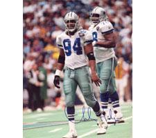Charles Haley Dallas Cowboys 16x20 #1095 Autographed Photo Image