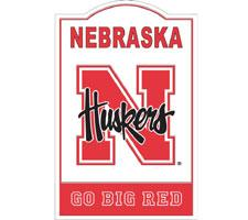 Nebraska Cornhuskers NCAA Nostalgic Metal Signs by Riddell