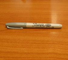 Silver Pen by Sharpie Image
