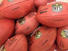 Real NFL Game Footballs