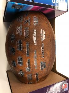 Super Bowl 52 Commemorative Football with Logos