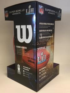 Super Bowl 52 Commemorative Football