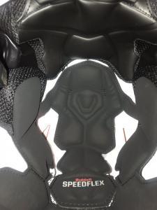 SpeedFlex inside padding close up