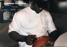 LaDainian Tomlinson signing for NSD