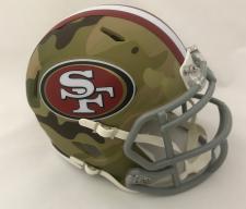 49ers Camo Helmets