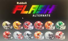Riddell College FLASH Mini Helmets Image
