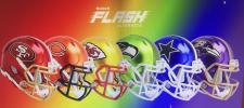 Riddell NFL Flash Helmets
