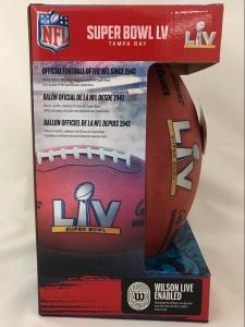 Super Bowl 55 Official Game Footballs