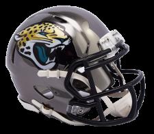 Jaguars Chrome Mini Helmets