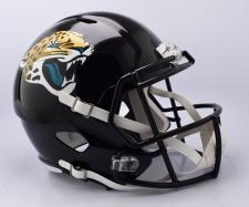 Jaguars Replica Speed Helmet