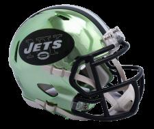 Jets Chrome Mini Helmets