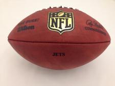 Team Issued NFL Game Footballs Jets