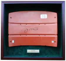 Display Case for Joe Montana Seatback