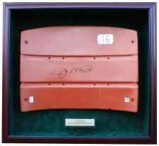 Display Case for Joe Montana Seatback