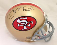 Joe Montana Autographed Helmet by Riddell