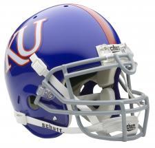 Kansas Jayhawks Full Size Authentic Helmet by Schutt