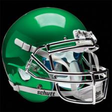 Kelly Green Chrome Helmet