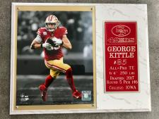 George Kittle Plaque