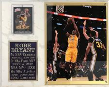 Kobe Bryant plaque
