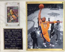 Kobe Bryant HOF plaque